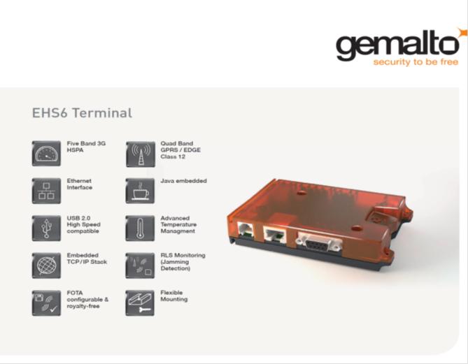GSM modem Gemalto EHS6
