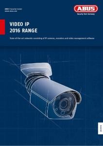 Katalog ABUS Video IP 2016 Range