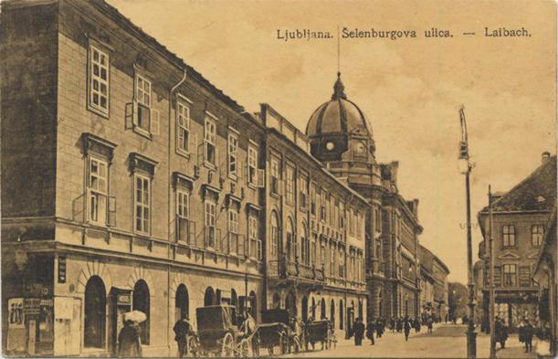 Ljubljana Šelenburgova ulica