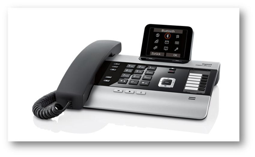 Gigaset komplet DX800A All in One namizni telefon