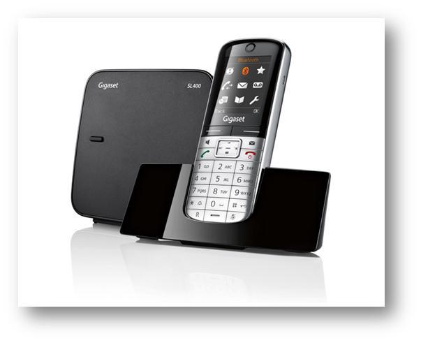 Gigaset komplet SL400 DECT telefon