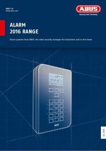 Katalog Alarm 2016 Range