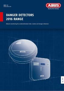 Katalog Danger Detectors 2016 Range